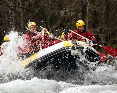 Rafting Romântico & Chá Quente