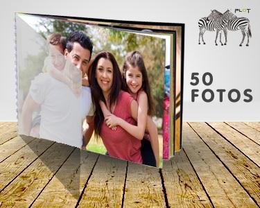 Foto-Álbum com 50 Fotografias