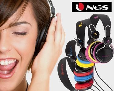 Headphones NGS® | Som & Estilo