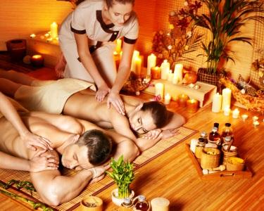 Candle Massage for Two