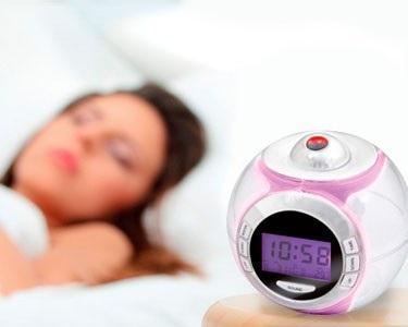 Relógio Despertador Projetável