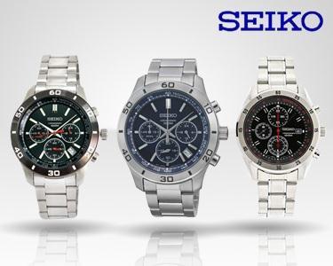 Seiko para Ele | 1 Relógio à Escolha