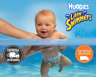 38 ou 40 Fraldas Little Swimmers | Huggies®