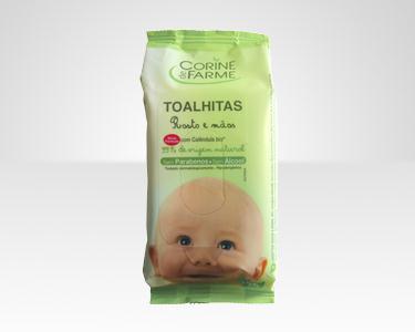 Cabaz 10 produtos para bebé   Corine de Farme