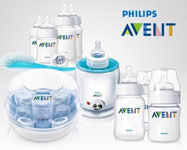 Cabaz Philips Avent para o cuidado do teu bebé