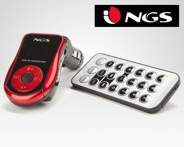 MP3 Para Carro Com Transmisor FM