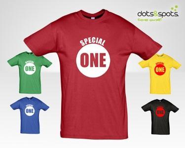 T-Shirt Special One - À Escolha