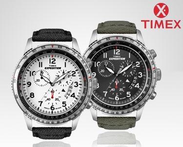 Timex Military Cronógrafo à escolha