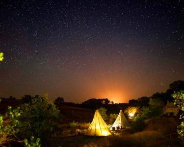 A Terra Eco Camping in Luxury - 2 Noites em Rajasthani Tenda