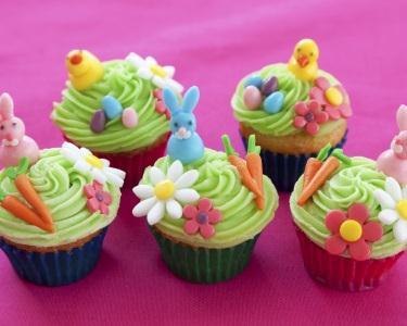 Workshop de Cupcakes Páscoa - 4h