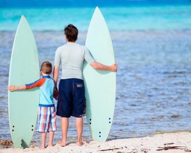 Aula de Surf para Pai & Filho