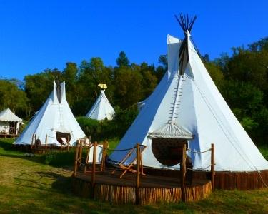 A Terra Eco Camping in Luxury - 2 Noites em Tenda Indiana