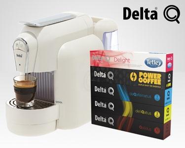 Delta - Máquina Qool + 50 Cápsulas