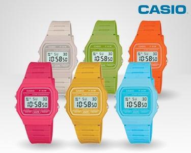 Relógio Casio Retro Colorido à Escolha