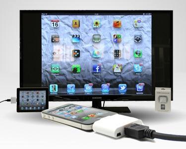 Conector de saida HDMI para iPad/iPhone