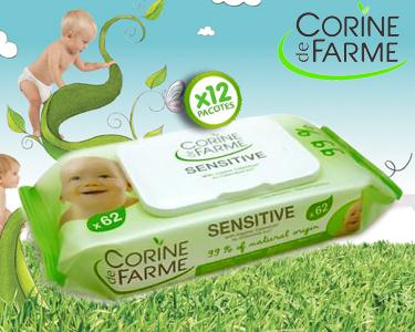 744 Toalhitas Corine de Farme®