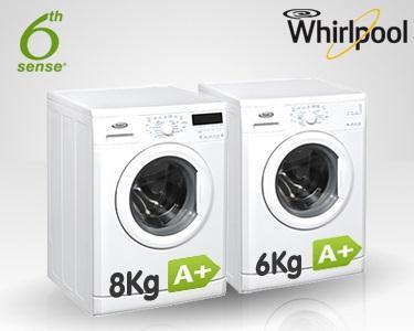 Máquina de Lavar Roupa | 6 ou 8 Kg