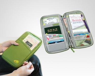 Organizador Documentos de Viagem