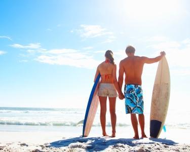 Aula de Surf a Dois - Quebra as Ondas