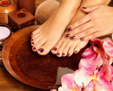 Manicure & Pedicure - Spa