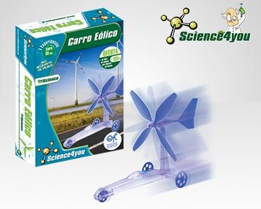 Carro Eólico -Science4You