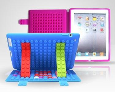 Capa Silicone iPad - Block Case