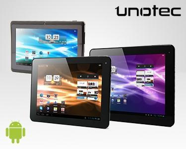 Tablet Unotec - 7'', 8'' ou 9,7'' - Escolhe o tamanho