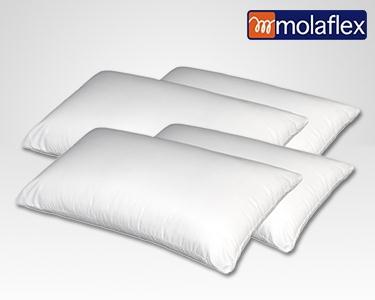 2 ou 4 Almofadas Hipoalergénicas Molaflex