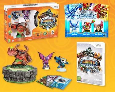 Jogo Wii Skylanders: Giants + Pack 3 Figuras