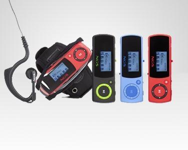 Kit Sport MP3 + Auscultadores - 4 GB