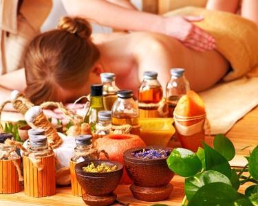 Spa Primavera 3 em 1 - Exfoliação, Massagem e Banho Aromático