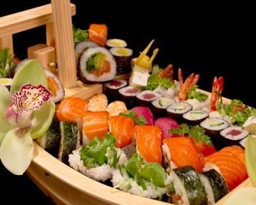 Cocktail Sushi no Teu Casamento