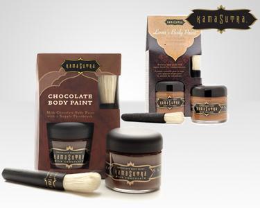 Kit Kamasutra Chocolate e Morango ou Caramelo