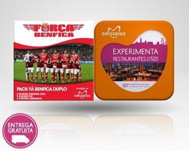 2 Presentes: Benfica + Gourmet