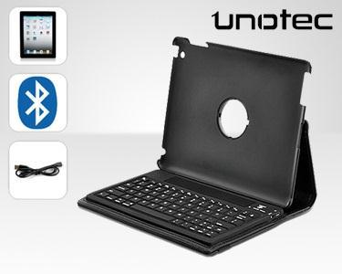 Capa e Teclado Bluetooth iPad2- 360º