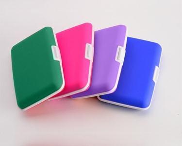 Carteira em silicone - Porta Cartões