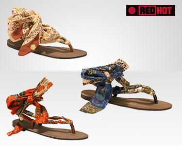 Sandálias RedHot® à escolha
