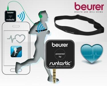 Medidor de Cardiofrequência para Smartphone - Beurer PM 200+