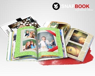 FotoLivro de 100 pág. | Mais de 1000 Fotos à Tua Escolha