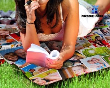 Manta de Jardim Personalizada c/ Fotos à Tua Escolha