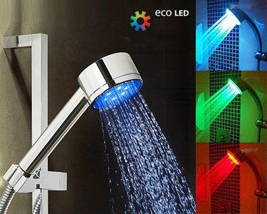 Chuveiro LED | Dê Mais cor no seu banho