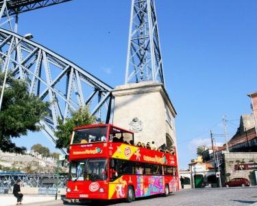 City Sightseeing pelo Porto em Autocarro Turístico | 1 ou 2 Pessoas