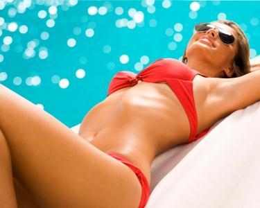 Bikini 2013: Crioterapias + Mantas Sudação + Massagens + Hidratação