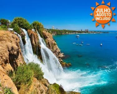 Riviera Turca | Voos + 7 Noites em Tudo incluído em Antalya