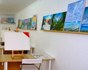 Workshop de Pintura a Óleo - Método Bob Ross