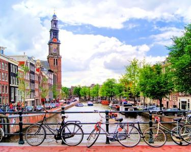 Voos para Amesterdão - Ida e Volta