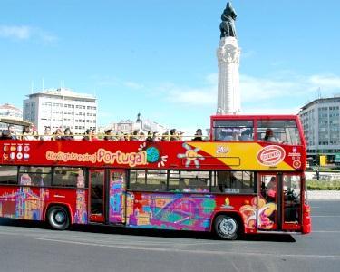 Lisboa City Sightseeing em Autocarro Turístico para 1 Ou 2 Pessoas