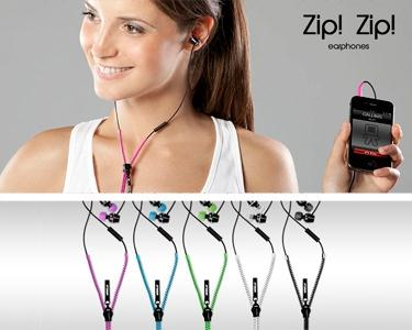 Phones Zip c/ Microfone Incorporado