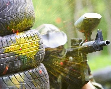 Paintball com 100 Bolas | Gouveia