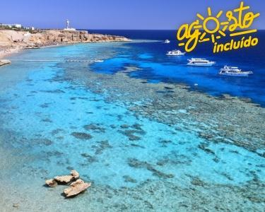 Sharm El Sheik - 7 Nts T. Incluído c/ Voo - Julho e Agosto